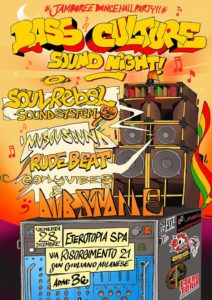 Jamboree Dancehall Party! Bass Culture Sound Night! @ Eterotopia