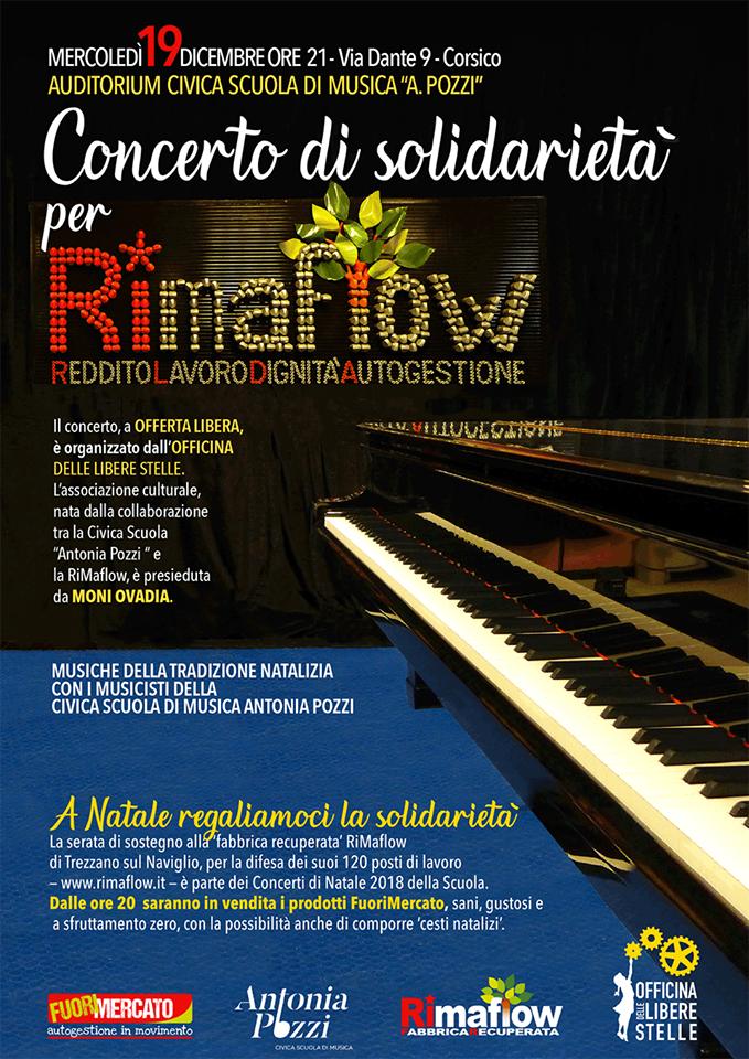 Concerto di solidarietà RiMAFLOW