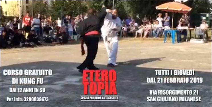 PALESTRA POPOLARE – Kung Fu