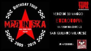 Mad in Ska (Francia) + Spazio Bianco live at Eterotopia @ Eterotopia