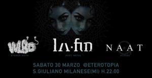 30.03.2019 La Fin, Naat, Vulbo @Eterotopia @ Eterotopia