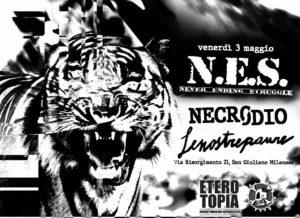 NES / Necrodio / AnonimaDisasters / LeNostrePaure LIVE! @ Eterotopia