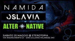 Namida, Oslavia e AlterNative Live at Eterotopia @ Eterotopia