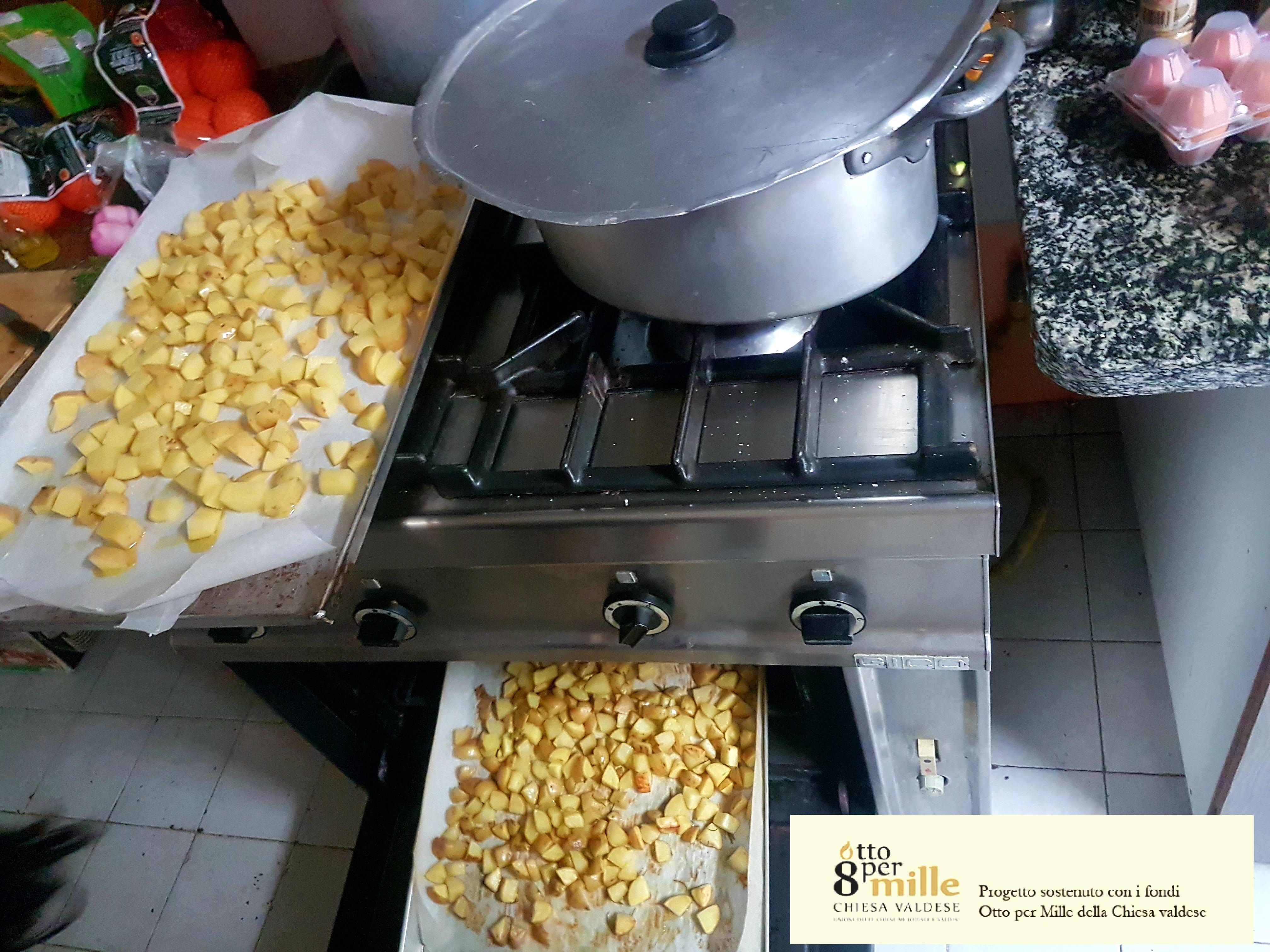 Ribaltare il concetto di cura: cucinare per gli altri