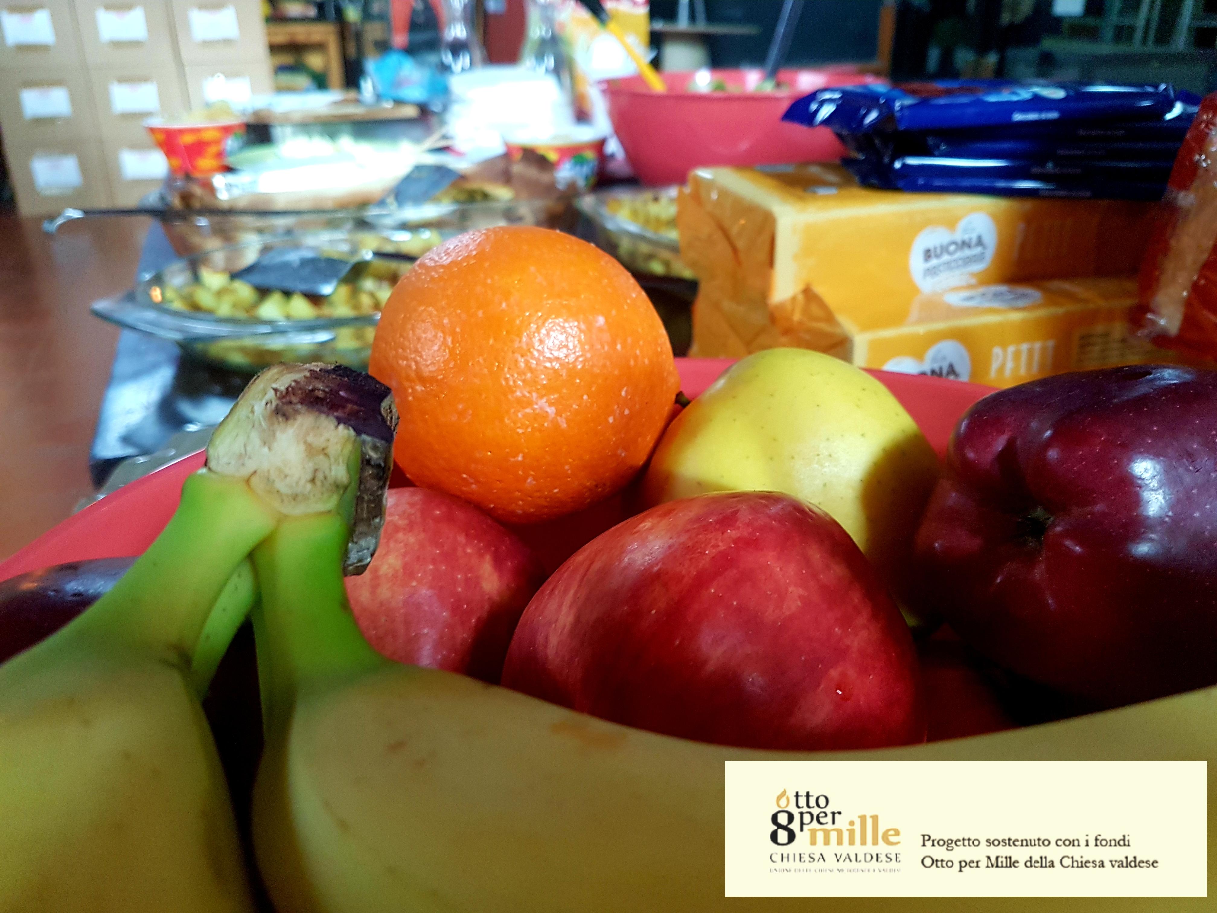 Frutta e verdura nel progetto sostenuto dall'8xmille Valdese